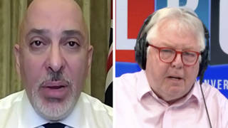 Nick Ferrari scrutinises Nadhim Zahawi over 'unfair' travel restrictions as thousands enter UK