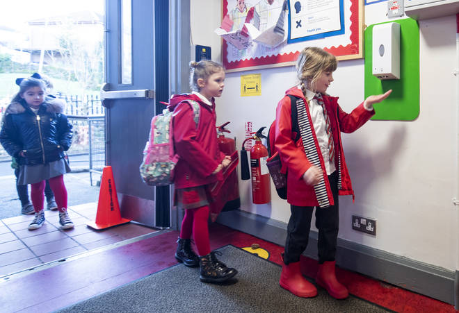 While the youngest pupils returned to school in February, Nicola Sturgeon has confirmed a full return from 19 April.