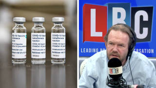 'Vaccine passports are a no-brainer,' caller suffering in Covid ward tells James O'Brien