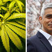 Sources close to Sadiq Khan said he was willing to consider legalising cannabis.