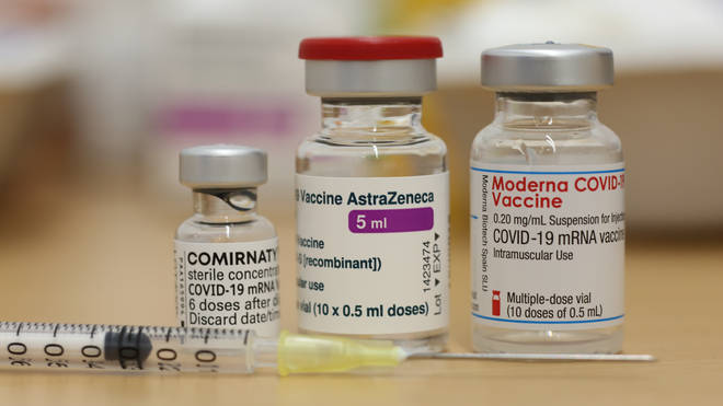 The Moderna vaccine in the UK follows the rollout of the Pfizer and AstraZeneca vaccines