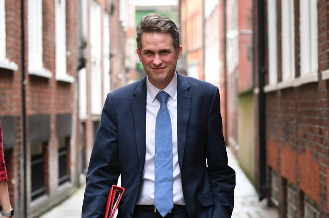 "Gavin Williamson wrote ""there is nothing Dickensian"" about a ""well-ordered"" classroom."