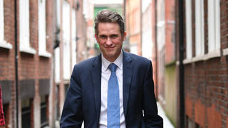 """Gavin Williamson wrote """"there is nothing Dickensian"""" about a """"well-ordered"""" classroom."""