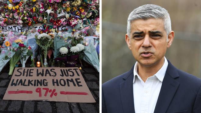 "London Mayor Sadiq Khan said ""men simply must change"" as he launched his re-election pledge."