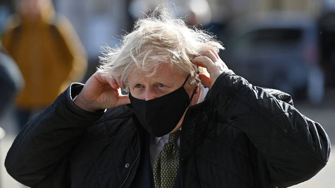 Boris Johnson has sought to reassure the public over the jab