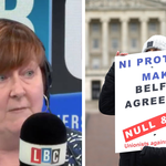 The commentator was speaking to LBC's Shelagh Fogarty