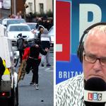 The caller was speaking to LBC's Eddie Mair