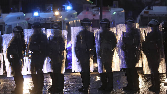 Police in Northern Ireland have been dealing with the unrest for a week