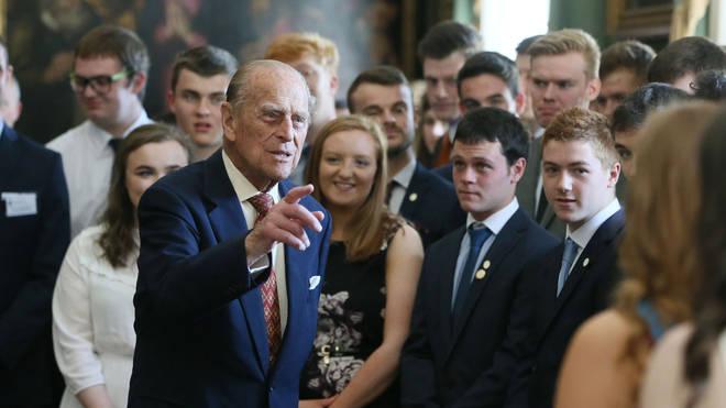 Prince Philip received widespread praise for the Duke of Edinburgh Awards scheme