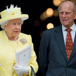 The Queen pictured with Prince Philip in 2016
