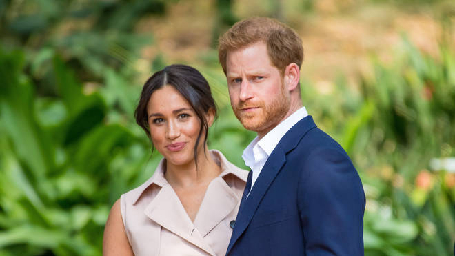 Harry and Meghan were the first royals to release their own message paying tribute to Prince Philip