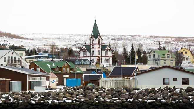 Husavik in Iceland