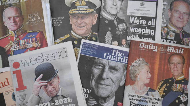 The nation is mourning the death of Prince Philip
