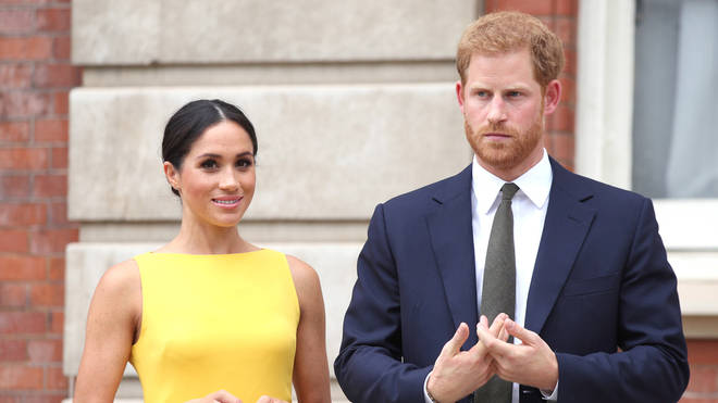It is understood Harry will be travelling to the UK for the funeral, while Meghan has been told to remain in the US by doctors as she is pregnant