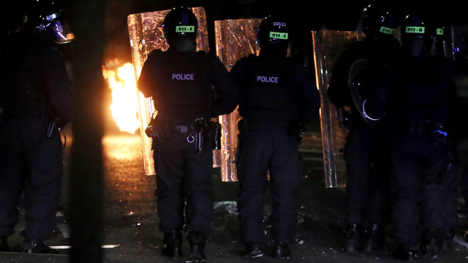 88 police officers have been injured during unrest in Northern Ireland