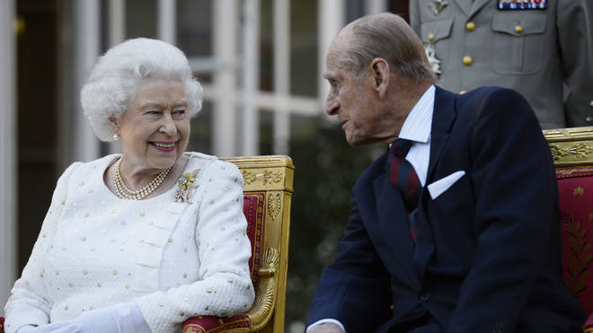 Prince Philip and the Queen were married for 73 years