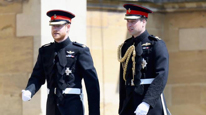 William and Harry will reunited to walk behind the Duke of Edinburgh's coffin