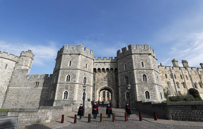 Prince Philip's funeral will be held at St George's Chapel, Windsor Castle, on Saturday.