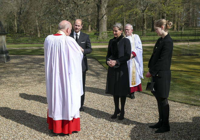 "The Earl and Countess of Wessex also spoke about how the Queen was reacting to the death, putting ""others before herself""."