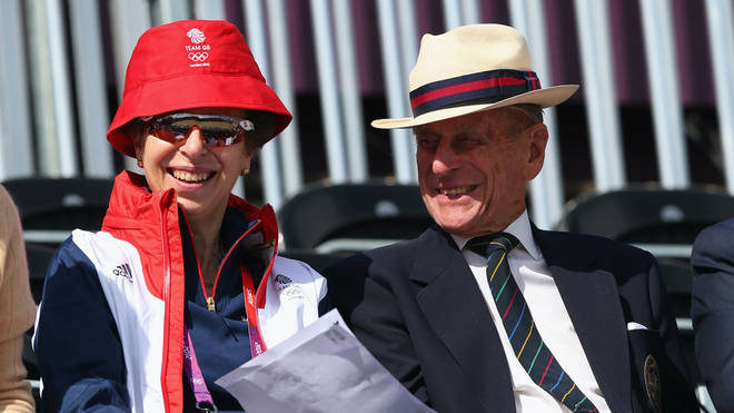 """Princess Anne has called Prince Philip her """"supporter and teacher"""" in an emotional message"""