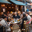 Outdoor pub service will resume in England from Monday.