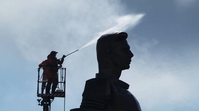 Gagarin monument