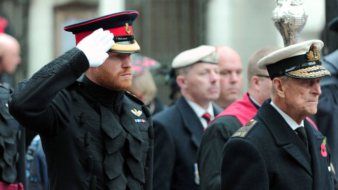 Prince Harry has returned to the UK for his grandfather's funeral