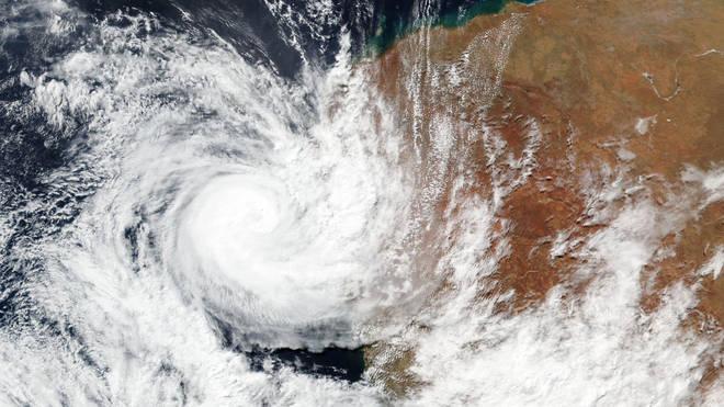 Seroja seen from space