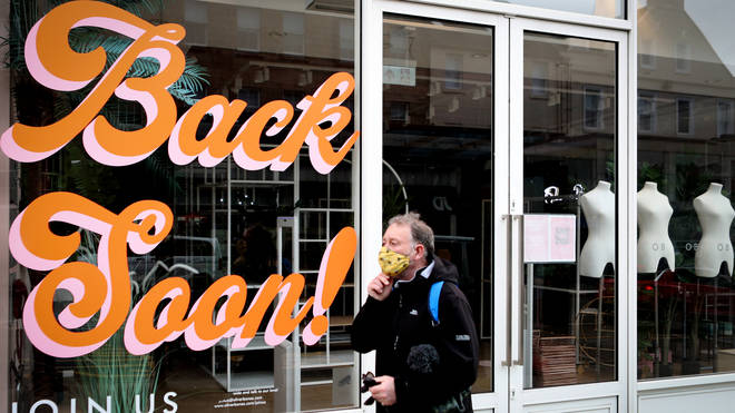 Non-essential retail is due to reopen in Scotland from 26 April