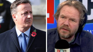 James O'Brien caller warns David Cameron's actions are 'tip of the iceberg'