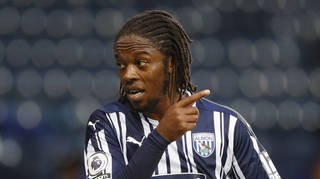 West Brom's Romaine Sawyers was the alleged victim of racial abuse online