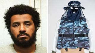 Sahayb Abu, 27, bought an 18-inch sword, a knife, balaclavas and body armour online as he prepared to strike last summer.