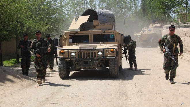 The Taliban have been accused of stepping up attacks on Afghans but avoiding US troops