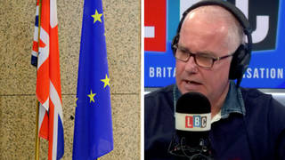 Brexit: Caller tells LBC his business has lost almost all its European sales