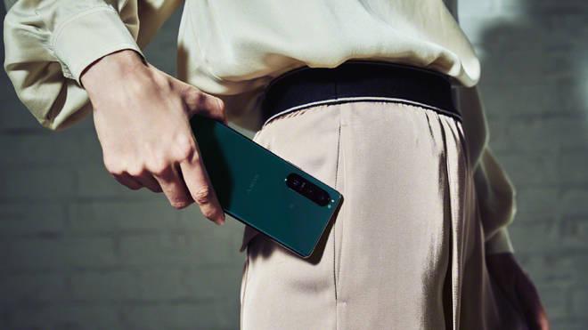 The new Sony Xperia 5 III smartphone
