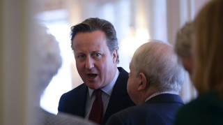 Former Prime Minister David Cameron has admitted lobbying ministers