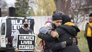 The shooting of Daunte Wright by a white officer led to protests