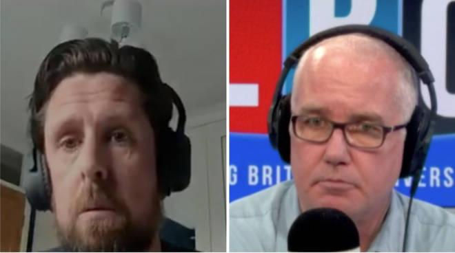 Dan Staunton spoke to Eddie Mair on LBC