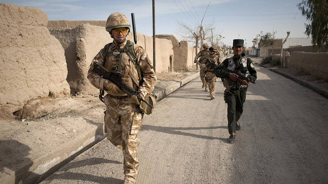 Allied troops have tried to build up Afghanistan's ability to fight insurgents