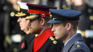 None of the royals will wear military uniform at the funeral