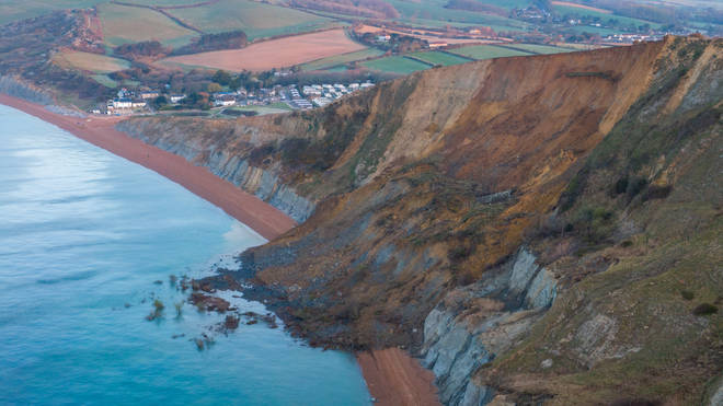 Further cliff collapses could occur