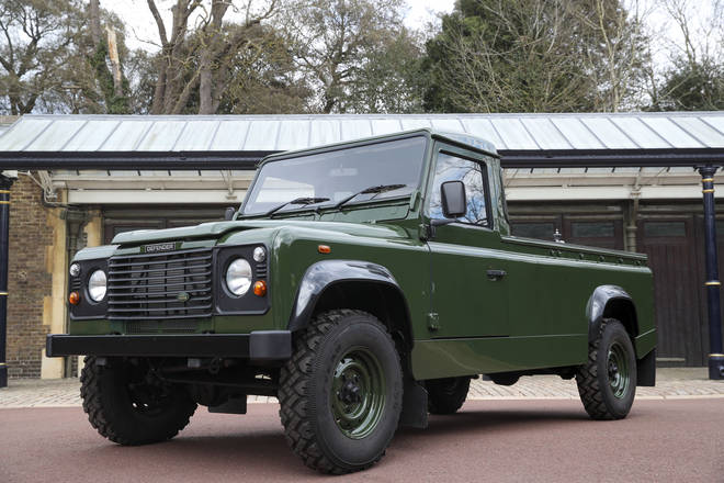 Prince Philip's coffin will be carried in a custom-made land rover which he helped design