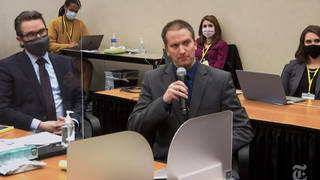 Derek Chauvin refused the right to testify