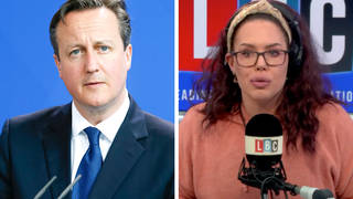 'I don't think what David Cameron has done is that bad,' caller tells LBC