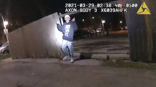 Body camera footage was released of the shooting in Chicago
