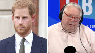 Prince Harry 'doesn't need a uniform' to know he's served, friend Dean Stott tells LBC