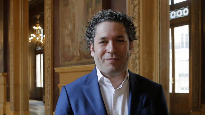 Venezuelan conductor Gustavo Dudamel (Christophe Ena/AP)