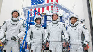 The crew for the second long-duration SpaceX Crew Dragon mission to the International Space Station
