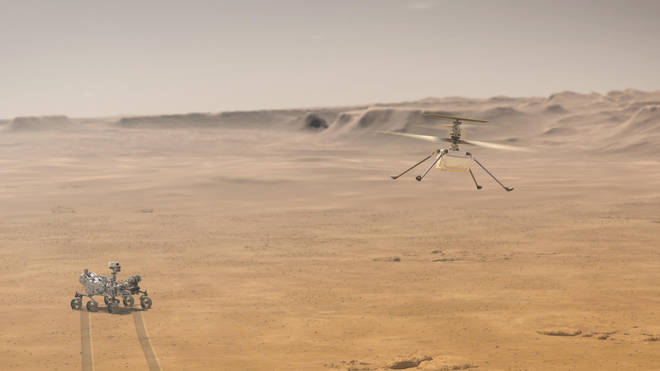 A successful flight will make it the Nasa's first on another planet