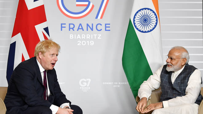 Boris Johnson will meet with Narendra Modi remotely after cancelling his trip